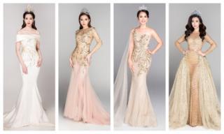 Lần đầu tiên trong lịch sử dàn Hoa hậu Việt Nam qua các năm quy tụ đông đủ ở bộ ảnh mới