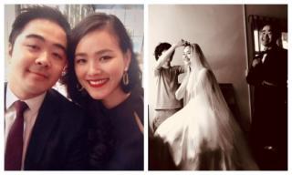 Hậu trường chụp ảnh cưới hạnh phúc của Á quân Vietnam's Next Top Model Tuyết Lan và hôn phu