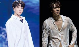 Lý do chiếc áo sơ mi trắng không thể thiếu trong tủ đồ của mỹ nam Hàn