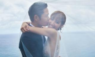 Ảnh cưới lãng mạn của nam tài tử Trịnh Gia Dĩnh và Hoa hậu Hong Kong 2013 Trần Khải Lâm được tung ra trước thềm hôn lễ