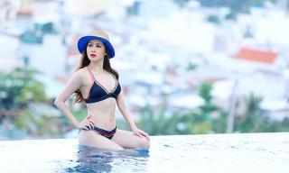 Ngắm đường cong nóng bỏng của 'Gái nhảy' Minh Thư trong loạt ảnh bikini đẹp mê hoặc