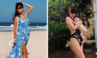 Để tự tin mặc bikini sau sinh con, Hà Anh đã thực hiện khẩu phần ăn kiêng ra sao?