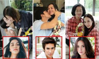 Những khoảnh khắc xúc động của sao Thái Lan trong ngày của mẹ