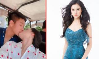 Bị nhận 'mưa gạch đá' vì đăng clip hôn soái ca U23 Việt Nam - Trọng Đại, Huyền Trang nói gì?