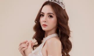 Nữ hoàng sắc đẹp châu Á Vi Nhạn Ngọc được khen đẹp như thần tượng nhan sắc
