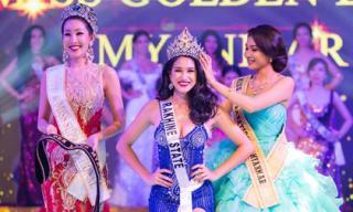 Người đẹp từng bị tước vương miện đăng quang Hoa hậu siêu Quốc gia Myanmar 2018