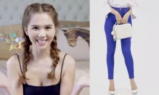 Bí quyết phối đồ với quần jean nữ đẹp và gợi cảm như Ngọc Trinh