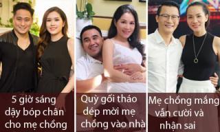 Chẳng biết bên ngoài xinh đẹp, giàu có thế nào, nhưng về nhà đây là cách vợ sao nam Việt đối xử với mẹ chồng