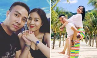BTV Nguyễn Hoàng Linh khoe loạt hình xăm khi đi du lịch Quy Nhơn cùng chồng sắp cưới