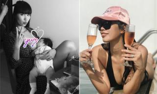 Siêu mẫu Hà Anh chẳng cần quá kiêng cữ sau sinh mà con gái vẫn lớn khỏe 'vù vù'