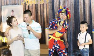 Vợ chồng ca sĩ Mỹ Dung tổ chức sinh nhật hoành tráng cho con trai