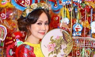 Diễn viên Thanh Thúy thực hiện bộ ảnh nhân dịp Trung thu 2018 để tự tạo niềm vui cho mình