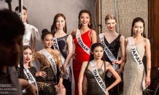 Nhìn dàn thí sinh Siêu mẫu Quốc tế 2018 đẹp thế này, cơ hội nào cho Khả Trang?