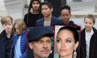 """Angelina Jolie dàn xếp cả việc xuất hiện với các con để nâng mình lên, """"dìm"""" Brad Pitt xuống?"""