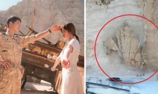 Nơi Song Hye Kyo và Song Joong Ki 'đính ước' trong 'Hậu duệ Mặt trời' đột ngột bị sụp đổ gây nỗi ám ảnh kinh hoàng
