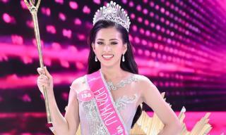 Thí sinh nhỏ tuổi nhất - Trần Tiểu Vy đăng quang Hoa hậu Việt Nam 2018