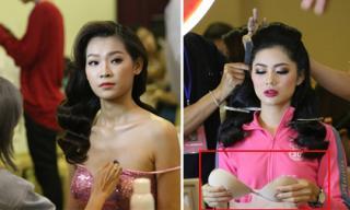 'Vũ khí bí mật' khiến thí sinh Hoa hậu Việt Nam biến thân thành các 'mỹ nữ phồn thực' trên sân khấu