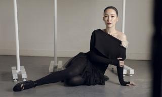 'Chim công làng múa' Linh Nga cuốn hút trong bộ ảnh ballet đen trắng