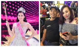 Bố mẹ Tân Hoa hậu Việt Nam 2018 gây sốt vì quá trẻ trung và sành điệu hơn cả con gái
