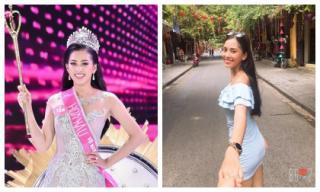 Vừa đăng quang, cư dân mạng đã đặt nghi án Tân Hoa hậu Việt Nam 2018 Trần Tiểu Vy có bạn trai?