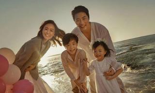Loạt ảnh siêu ngọt của gia đình nam tài tử Kwon Sang Woo nhân kỷ niệm 10 năm ngày cưới