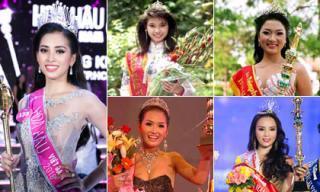Những Hoa hậu tuổi teen trong lịch sử Hoa hậu Việt Nam, có người đăng quang khi mới 16 tuổi