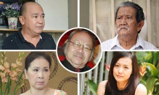 Sao Việt thương tiếc, chia buồn khi NSND Đoàn Dũng qua đời