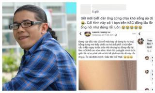 Lấy hình trên mạng đăng lên facebook tỉnh rụi, Kasim Hoàng Vũ bị bóc phốt sống ảo