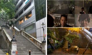 Cầu thang kinh điển 100 năm tuổi trong các phim TVB bị bão Mangkhut phá hủy