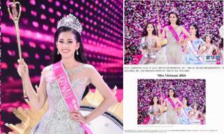 Báo nước ngoài hết lời khen ngợi nhan sắc xinh đẹp của Tân Hoa hậu Việt Nam 2018 Trần Tiểu Vy