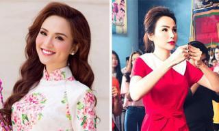 Gương mặt lạ hoắc của Hoa hậu Diễm Hương làm dấy nghi án 'dao kéo'