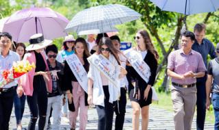 VietGroup mời đương kim Hoa hậu Áo đến Quảng Bình