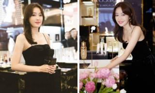 """Mới trở về từ Ý, """"Phú Sát Hoàng hậu"""" Tần Lam lại làm fan đỏ mắt vì phong cách thời trang gợi cảm"""