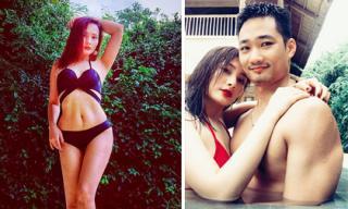 Bị chê 'vòng một lép', Bảo Thanh vẫn đẹp mướt mắt khi diện đồ bơi