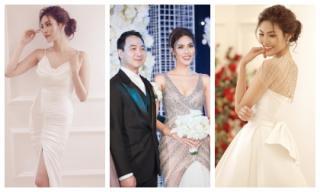 Ba chiếc đầm cưới lộng lẫy của Lan Khuê khiến dân tình trầm trồ, bóc giá sẽ khiến bạn càng sốc