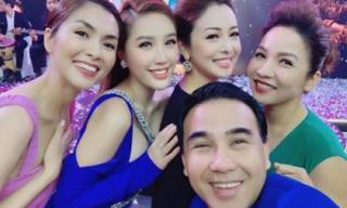 Hà Tăng và Jennifer Phạm khiến dân tình bối rối khi đứng chung một khung hình