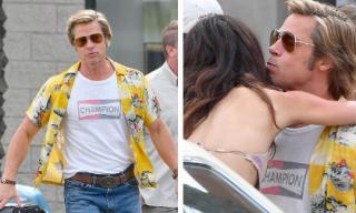 Dính tin đồn hẹn hò nhà thiết kế trang sức, Brad Pitt lại bị bắt gặp ôm hôn bạn diễn trẻ