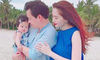 Kỉ niệm 1 năm đám cưới, Đặng Thu Thảo đăng ảnh cả gia đình, tiết lộ sẽ sinh thêm con