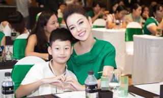 Về Việt Nam không bao lâu, Bảo Nam đã chạy show tất bật cùng mẹ Jennifer Phạm
