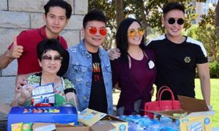 Hoa hậu – Nam vương người Việt thế giới làm từ thiện sau đăng quang