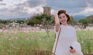 Không còn là 'Hân hoa hậu đanh đá', Thuý Ngân khoe vẻ đẹp vừa dịu dàng vừa hiện đại tại xứ Hàn