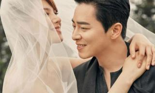 Ảnh cưới đẹp ngất ngây của nữ hoàng nhạc phim Gummy và nam diễn viên Jo Jung Suk