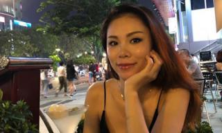 Xuất hiện tại phố đi bộ Nguyễn Huệ, Hoa hậu Hoàn vũ 2007 Riyo Mori khoe nhan sắc trẻ trung