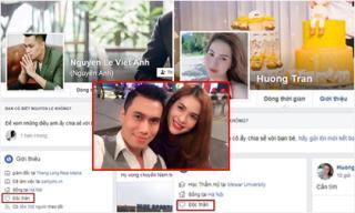 Lê Việt Anh và bà xã cùng 'bật' chế độ độc thân trên trang cá nhân