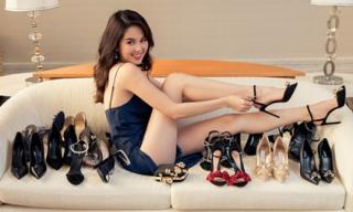 Lại bày la liệt giày hiệu, Ngọc Trinh đích thị là 'yêu nữ hàng hiệu' khiến chị em phát hờn