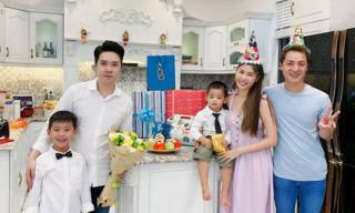 Vợ chồng Đăng Khôi tổ chức sinh nhật cho con trai thứ hai trong biệt thự 20 tỉ