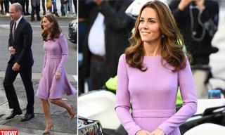 Diện váy hàng hiệu 41 triệu đồng nhưng Công nương Kate Middleton còn khiến chị em trầm trồ hơn vì điều này
