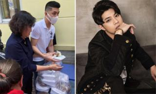 Sau ồn ào bị kiện tác quyền, Noo Phước Thịnh hủy hết show, lặng lẽ đi làm từ thiện với mẹ