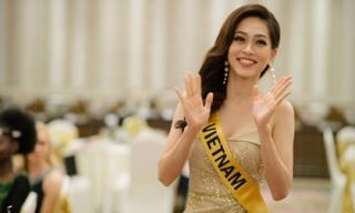 Luôn tràn đầy năng lượng, Á hậu Phương Nga nổi bật tại Hoa hậu Hòa bình Quốc tế 2018