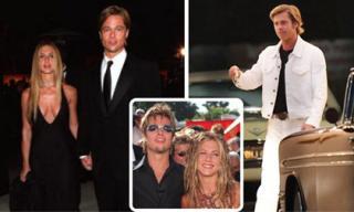 Fans ngỡ ngàng khi Brad Pitt để tóc mới như thời hẹn hò với vợ cũ Jennifer Aniston